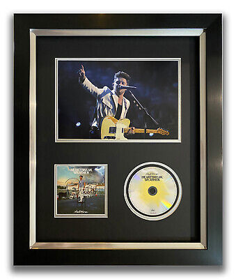 £199.99 • Buy Niall Horan Hand Signed Framed Cd Display - Heartbreak Weather - Music Autograph