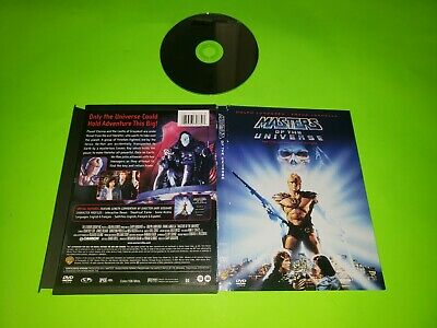 $10 • Buy Masters Of The Universe DVD TESTED VERY GOOD He Man 1987 2001 Snapback