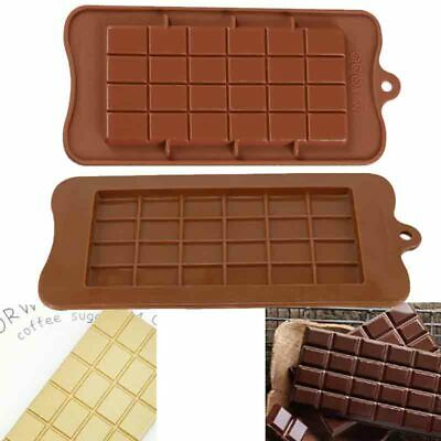 £2.59 • Buy Square Chocolate Mould Bar Block Slab Silicone Cake Candy Sugar Decoration Mold