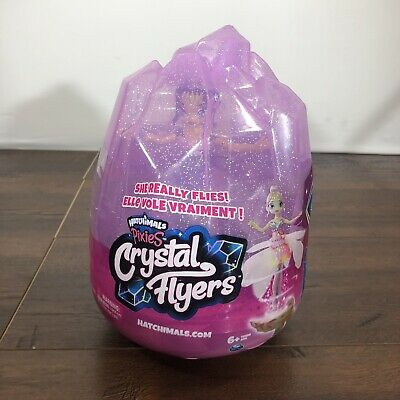 Hatchimals Pixies Crystal Flyers Purple Magical Flying Pixie Toy / New • 25.32£