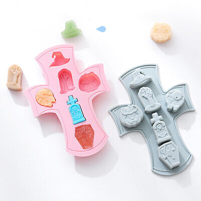 £2.89 • Buy Silicone Fondant Cake Chocolate Mould Christmas Decorating Baking Cookies Mold