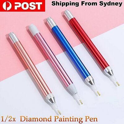 AU8.55 • Buy 5D Diamond Painting Diamond Painting Tool LED Light Point Drill Pen Accessories