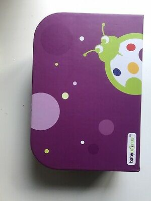 Ladybug Cardboard Suitcase Keepsake Lunch Box. • 10£