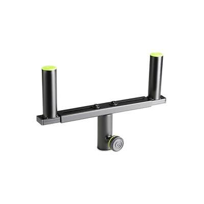 £24.99 • Buy Gravity SAT36B T-Bar For Pair Of Small PA Speakers On Tripod Stand