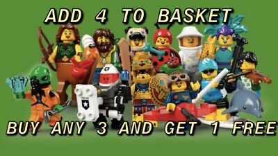 £6 • Buy Lego Minifigures Series 21 71029 Pick Your Own Buy 3 Get 1 Free New & Unopened