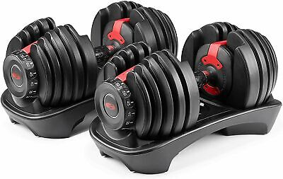 $ CDN668.29 • Buy BOWFLEX SelectTech 552 Two Adjustable Dumbbells (Pair) Fast Shipping NEW SEALED