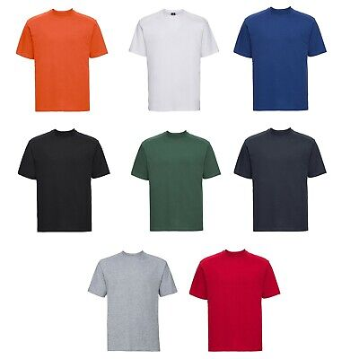 Russell Mens Classic Heavyweight 100% Ringspun Cotton Casual Softstyle T Shirt  • 10.99£