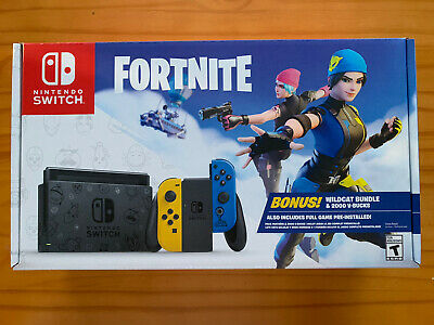 $499 • Buy Nintendo Switch Fortnite Special Edition - Fortnite Wild Cat Console Bundle Code