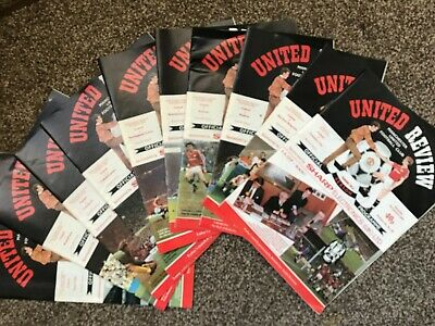 MUFC Manchester United Review 1986-87 Season Volume 48 Uefa Programmes 1980s • 7.99£