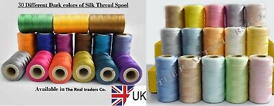 £11.99 • Buy 30 Various Silk/ Rayon Embroidery Machine Thread Spools For Brother, JANOME | UK