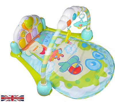 £24.95 • Buy Venture Mini Me And Friends Kick And Play Mat Piano Gym 3in1 Baby Activity Blue