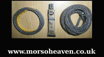 £15 • Buy  Morso Squirrel Door Rope And Glass Seal Kit. First Class Postage.