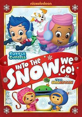 £3.98 • Buy Bubble Guppies/Team Umizoomi: Into The Snow We Go (DVD, 2013)