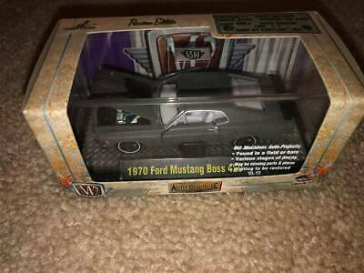 $45.99 • Buy M2 Machines Auto-Projects 1970 Ford Mustang Boss Chase Primer Grey 1 Of 500