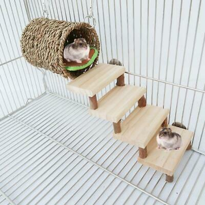 £8.43 • Buy Hamster Tunnel Bed Climbing Ladder Cage Playground Chew Toys Rat Habitat Shelter