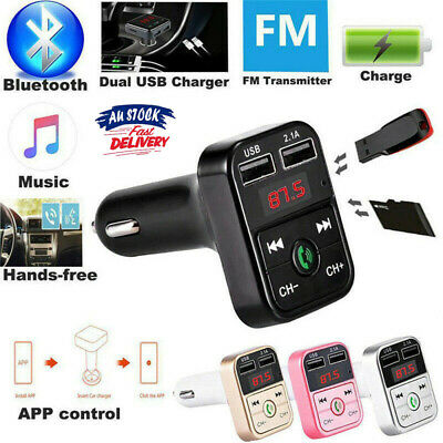 AU11.99 • Buy Wireless Car Kit FM Transmitter Bluetooth Radio MP3 Music Player USB Charger AUS