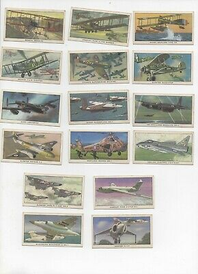 Kellogg 1963 British Military Aircraft Full Set Of 16 Cards Pre-owned • 3.25£