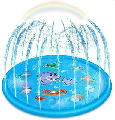 AU83.98 • Buy Sprinkler For Kids, Sprinkler Pad & Splash Play Mat,Toddler Water Toys Fun-170cm