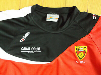 O'neills Down Gaa Training/casual Top, Color Red/black, Size Age 10-11 • 3.39£