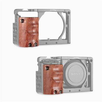 $ CDN32.36 • Buy SmallRig Wooden Handgrip 1970 For Sony A6000/A6300/A6500 ILCE-6000 Camera Cage