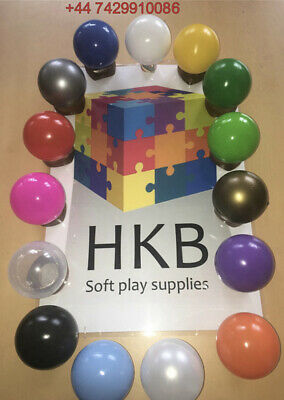 £85 • Buy 500 BRAND NEW SOFT PLAY BALLS -BALL PIT, POOL , COMMERCIAL GRADE CE 8cm