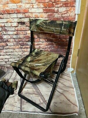 £17 • Buy Camping Chair Camouflage Outdoor Portable Folding Fishing/shooting/pic Nic Stool