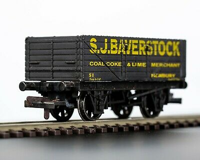 Dapol Railways 7-plank Open Coal Wagon  S.J.Baverstock, Newbury  • 8.99£