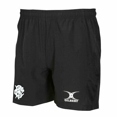 GILBERT Barbarians Rugby Vapour Gym / Training Shorts [black] • 14.95£