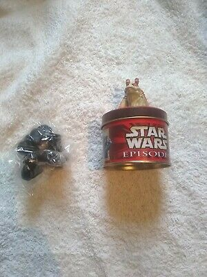 STAR WARS EPISODE 1 SWEET TIN WITH  UNOPENED SWEETS Rare • 6.30£