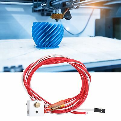 AU19.86 • Buy Mk8 Extruder Heating Nozzle Durable Extruder Hot End Kit For Printer