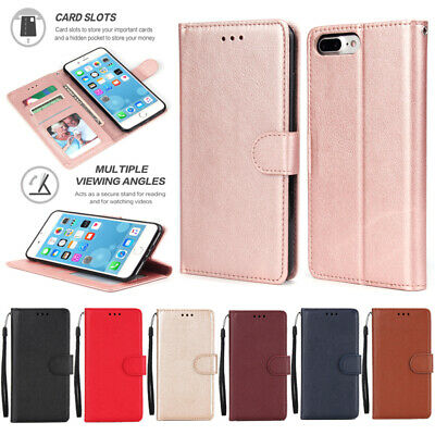 AU9.99 • Buy Case For Samsung J2 J3 J4 Prime J5 J6 J7 J8 Magnetic Leather Wallet Phone Cover