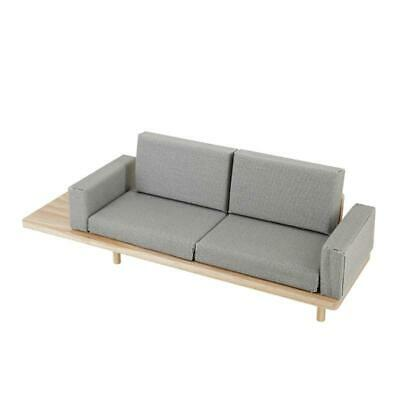 1/12 1/10 Dollhouse Miniature Japanese Style Sofa For Living Room Bedroom • 15.35£