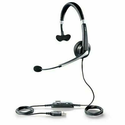 Jabra UC Voice 550 MS Mono USB PC Headset Skype Teams Zoom 5593-823-109 Free P&P • 21.95£