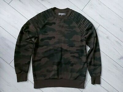 Primark Mens Jumper Army Camouflage Small • 12£