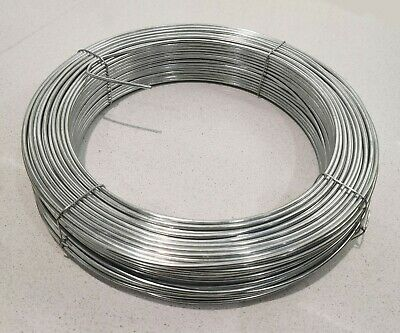 2.5mm Thick Galvanised Steel Tension Straining Binding Fencing Wire Chain Link • 19.99£