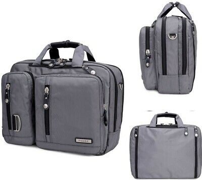 Freebiz Laptop Briefcase Backpack Multi-function With Handle And Shoulder Strap  • 29£