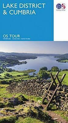 Lake District & Cumbria (OS Tour Map) By Ordnance Survey,  • 5.20£