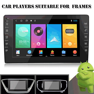 $139.39 • Buy Car Stereo Radio HD MP5 Player Android 8 Touch Screen GPS Navigation For 9 Frame
