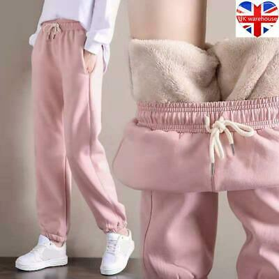 £11.78 • Buy Women's Winter Warm Thick Trousers Thermal Fleece Lined Stretchy Leggings Pants