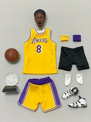 $59.99 • Buy 1:6 Scale NBA Lakers 8 Kobe Bryant Head Sculpt,Jersey,Shoes & Accessories Set