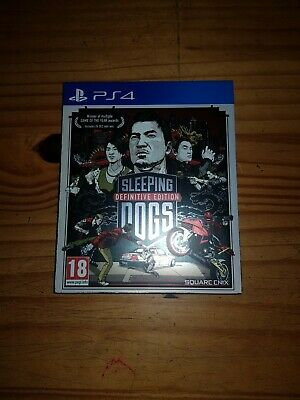 £22.95 • Buy Sleeping Dogs Definitive Edition - PS4- VGC