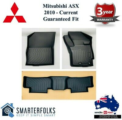 AU120 • Buy 3D / 5D TPE All Weather Floor Mats For Mitsubishi ASX 2010 - Current