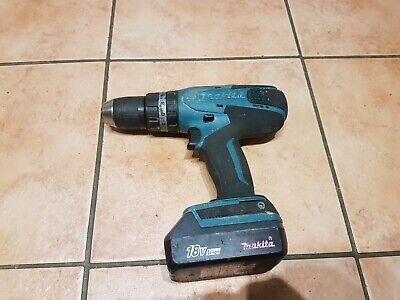 MAKITA HP457D CORDLESS COMBI DRILL G Series 18V With Battery BL1813G 1.3Ah. • 49£