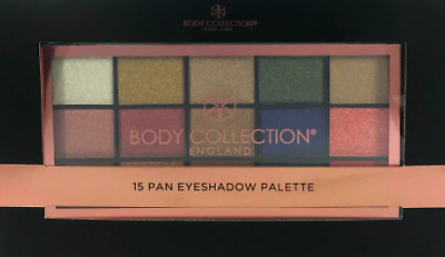 Body Collection 15 Pan Eyeshadow Palette 15x2g • 9.90£
