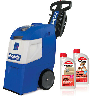 Rug Doctor Mighty Pro X3 Carpet Cleaner + Pet Formula And Oxy Power Detergents • 580.95£