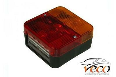 AU21.13 • Buy Pair Of Trailer Square Four Combination Rear Lamp Lights Inc Bulbs Mp3b Maypole