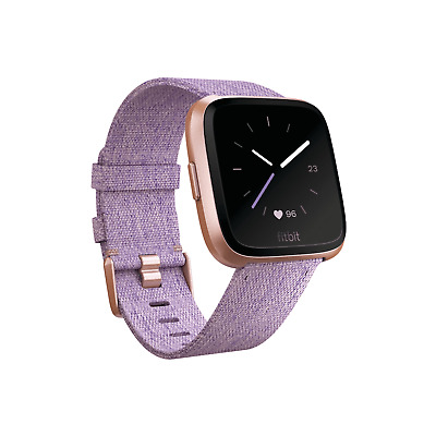 $ CDN157.99 • Buy Fitbit Versa Special Edition Smart Watch, Lavender Woven, (S & L One Size Bands)