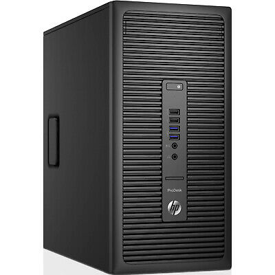 HP ProDesk 600 G2 Desktop Computer PC Quad Core I5-6500 8GB DDR4 512GB SSD & 2TB • 219.99£