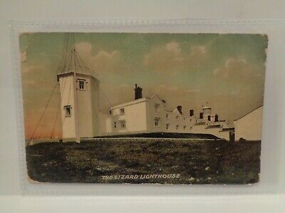£6.50 • Buy The Lizard Lighthouse, Cornwall - Printed Postcard - Posted 1907