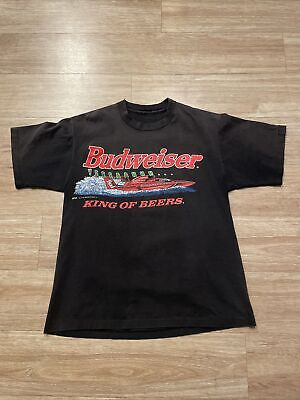 $ CDN57.26 • Buy Vintage BUDWEISER King Of Beers This BUD'S FOR YOU Frogs T-Shirt Mens M USA